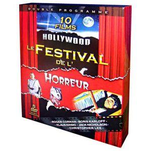DVD FILM COFFRET 5 DVD LE FESTIVAL DE L'HORREUR / 5 DVD = 1
