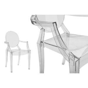 lot de 4 chaises crystal transparentes empilables Résultat Supérieur 1 Merveilleux Petit Fauteuil Design Und Chaise Discount Pour Deco Chambre Image 2017 Lok9