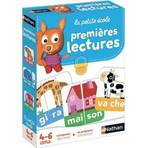 JEU SOCIÉTÉ - PLATEAU NATHAN La Petite Ecole - Premières Lectures