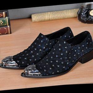 MOCASSIN Design de luxe italienne Chaussures habillées form