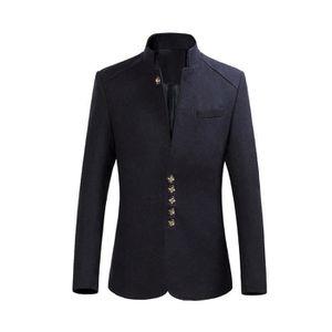 COSTUME - TAILLEUR 2017 nouvelle Veste de costume col mao, montant co