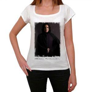 T-SHIRT Alan Rickman 2 t-shirt pour femmes cadeau t-shirt