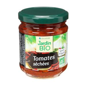 CONSERVE AUTRES LÉGUMES JARDIN BIO Tomates séchées bio - 190 g
