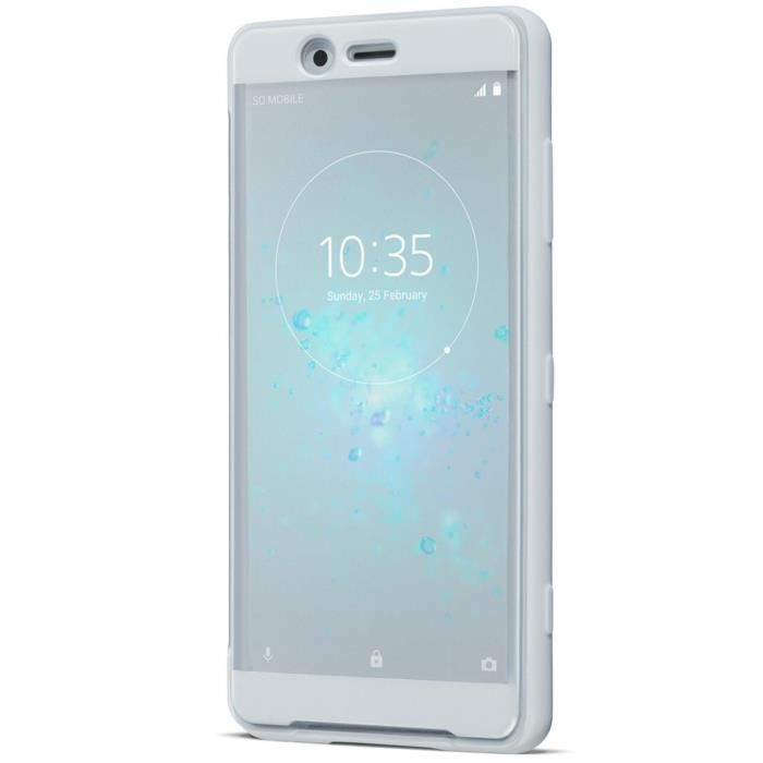 Sony Style Cover Touch XZ2 Compact Silver