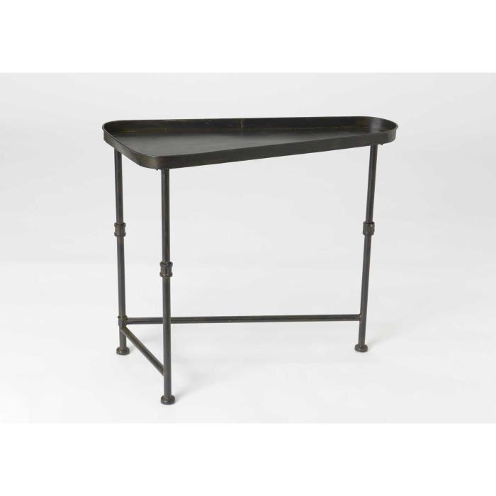 table basse fer noir. Black Bedroom Furniture Sets. Home Design Ideas