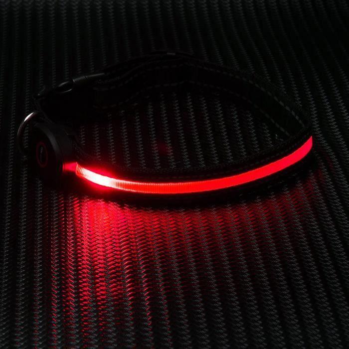 Réglable Facturable Sécurité Chien Led Collier Pour Clignotant Glow Collar1595