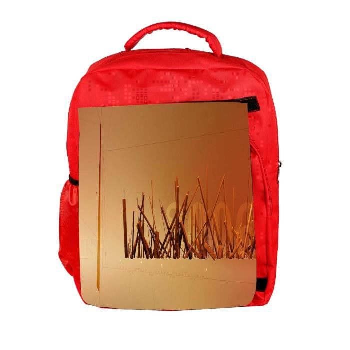 Eco Friendly hommes toile Stocking Woods Designer Sac à dos Rucksack école Voyage unisexe Casual Can I6LK9