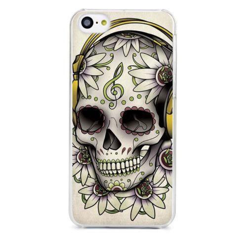 coque iphone xr tete de mort mexicaine