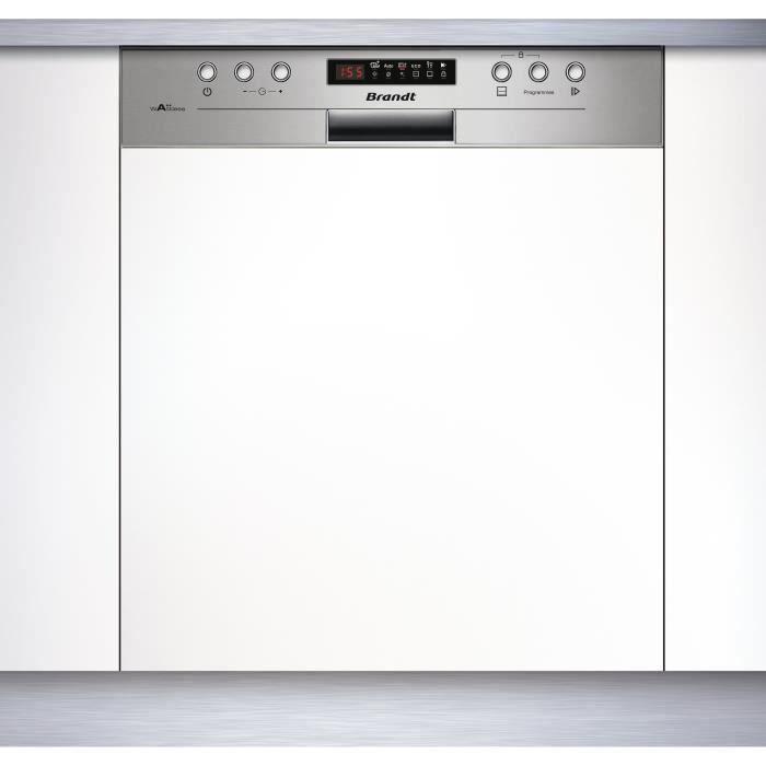 BRANDT VH15X - Lave vaisselle encastrable - 13 couverts ...