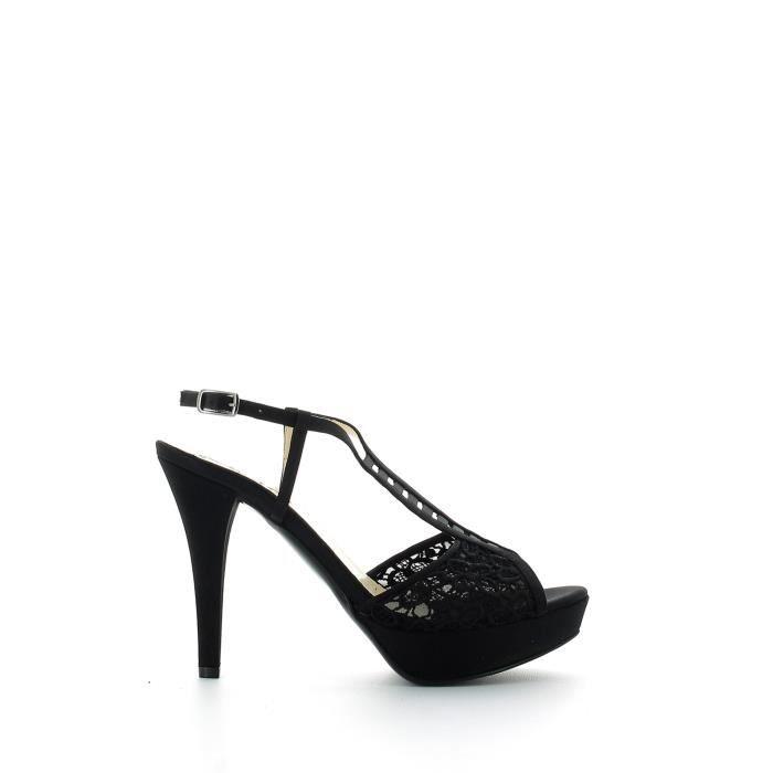 Grace shoes Sandales à talons hauts Femmes Noir