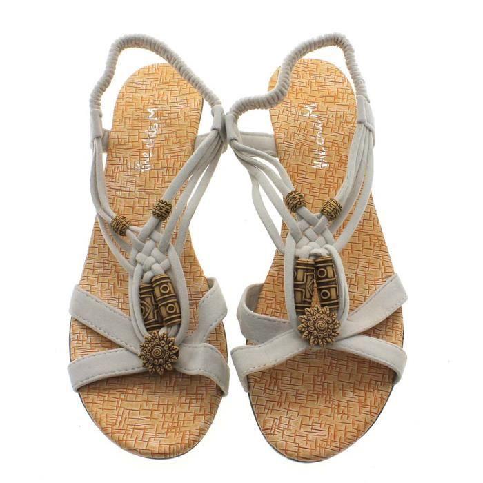 New Summer Girl Femmes Kitten Casual Heels bout...
