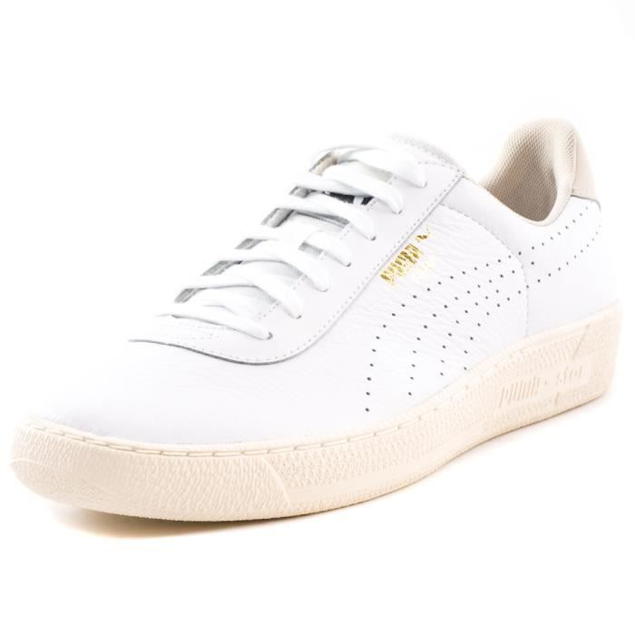 Puma Star Crafted Hommes Baskets White - 7 UK