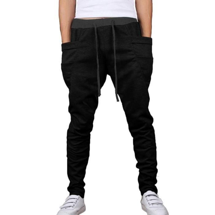 Tomwell Hommes Casual Danse Pantalon Hiphop Baggy Sport Jogging Sarouel 9cbb9c44c55