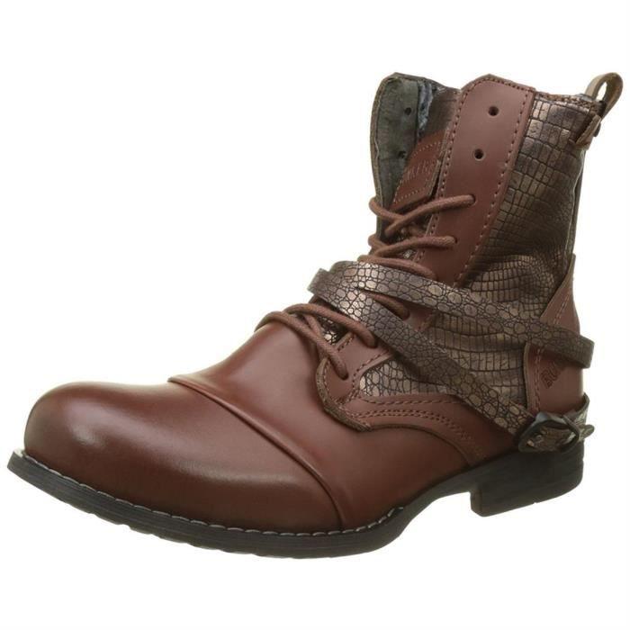 bottines / low boots sara kol femme bunker kol-2017