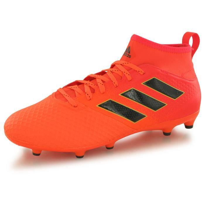 Adidas Chaussures De Football Ace 17.3 Fg Homme Orange Et Noir D2wDeIHC