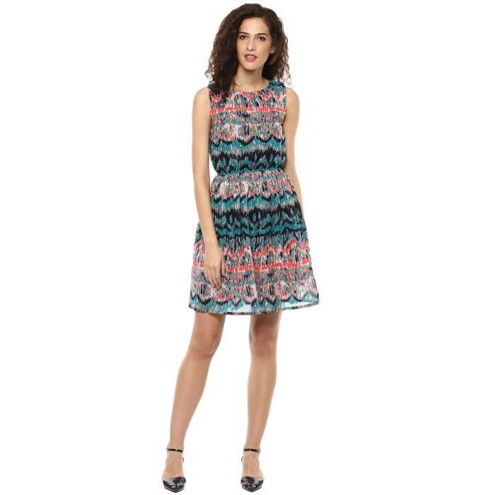 Swagg Une ligne multicolore robe de la femme CPQQO Taille-34