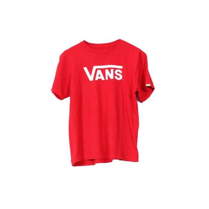 t shirt vans rouge