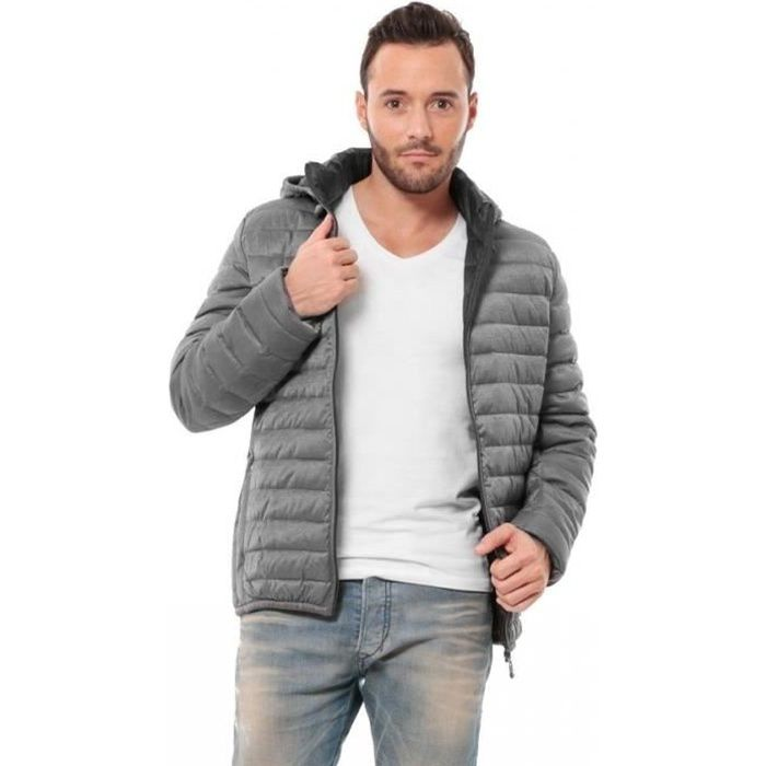 Homme Achat Vente Gris New Collection Waxx Doudoune vHwdqPP
