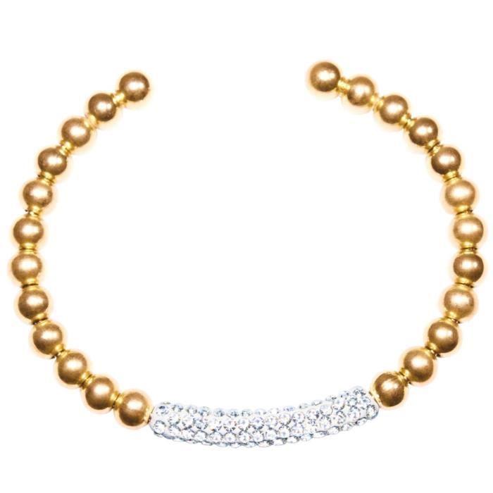 Tommy Hilfiger - Tommy Hilfiger Femmes Bracelet SIGNATURE CLASSIQUE Acier inoxydable zircone Réf 40314