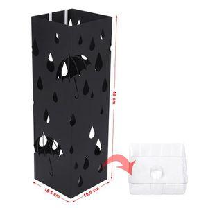porte parapluie noir achat vente pas cher. Black Bedroom Furniture Sets. Home Design Ideas