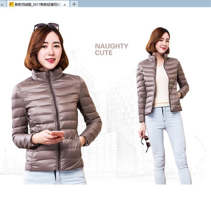 Doudounes Loisirs Confortable De Qualité Nouvelle Hiver Femme S Garde Vetement Couleur Au Chaud Cachemire Nik Plus Haut Doudoune 4xl 4qw8zz