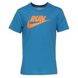 MAILLOT DE RUNNING NIKE T-shirt Running Run Swoosh Homme RNG