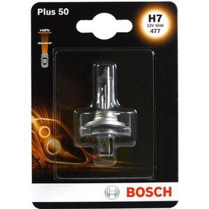BOSCH Ampoule Plus 50 1 H7 12V 55W