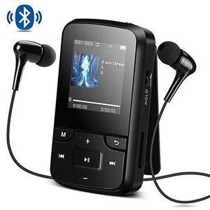 LECTEUR MP3 AGPTEK Mp3 Bluetooth 4.0 avec Clip 8Go Lecteur Spo