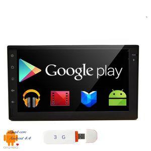 AUTORADIO 3G - 4G Quad core 2 din Android 4.4 Nouveau casque