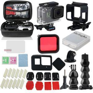 CAMÉRA SPORT Kit d'accessoires 32 en 1 pour GoPro Hero7Black /