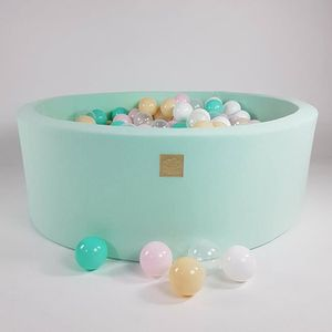 PISCINE À BALLES Piscine à Balles 40cm + 200 balles pour Enfants Bé