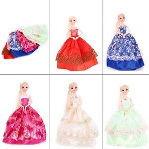 ACCESSOIRE POUPÉE 5pcs Barbie vetement, Robe pour barbie, Poupee rob