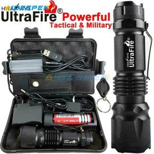 LAMPE DE POCHE Torche de lampe torche militaire tactique militair