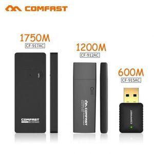 CARTE RÉSEAU  600 M Et 1200 1750 Usb Wi Fi Adaptateur Wifi Dongl