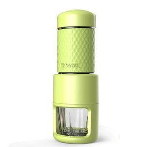 COMBINÉ EXPRESSO CAFETIÈRE Mini machine à café manuelle manuelle de machine à
