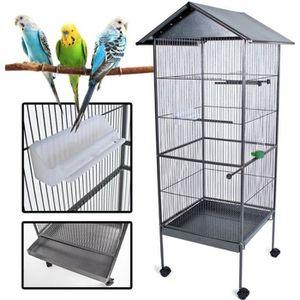 cages habitat oiseaux achat vente cages habitat oiseaux pas cher soldes d s le 10. Black Bedroom Furniture Sets. Home Design Ideas