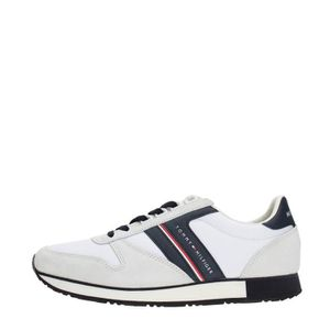 BASKET Tommy Hilfiger Sneakers Homme WHITE/MIDNIGHT, 40