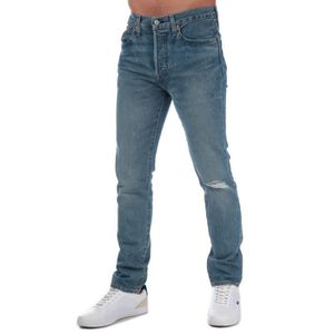 JEANS Levis Jean 501 Coupe skinny Bleu Clair Homme