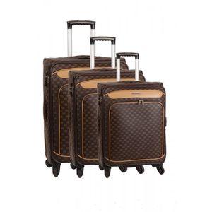 SET DE VALISES Set de 3 valises 4 roues et un beauty case smart p