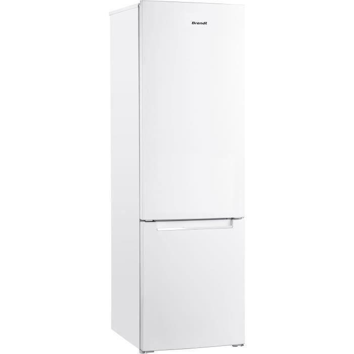 BRANDT BSC7507W - Réfrigérateur combiné 264 L (199L + 65L) - Froid statique - A+ - L 55 cm x H 176 c