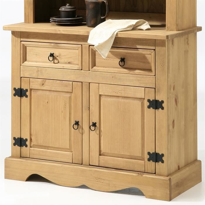 good buffet bas bahut commode style mexicain pin massif with bahut bas pas cher. Black Bedroom Furniture Sets. Home Design Ideas