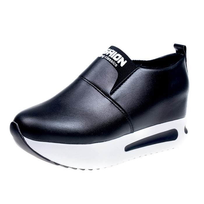 Plate 291 Casual Sport Mode Slip Femmes on forme Sneakers Chaussures Veberge Compenses Thick wXfyqpU7
