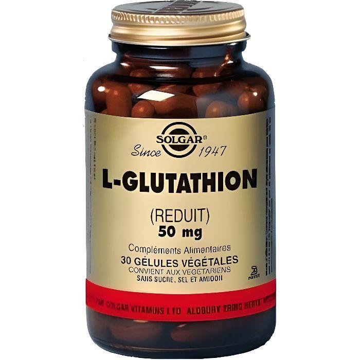 COMPLEMENT ANTI-ÂGE L-Glutathion 50mg - 30 gélules