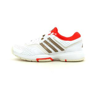 chaussures tennis adidas baricade w blanche bordeaux