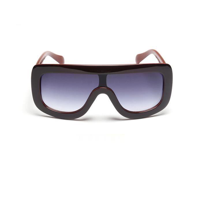 Squar Hommes Sunglass Mode zf573 Classique cadre Lunettes Grand Lunettes Femmes soleil soleil de Deuxsuns® de Marque UXxanHq5w6