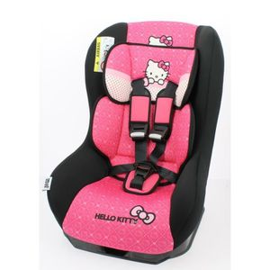 siege auto hello kitty achat vente pas cher. Black Bedroom Furniture Sets. Home Design Ideas