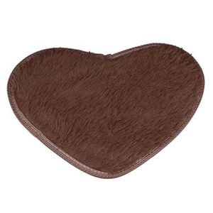 TAPIS 40*50cm Anti-skid moelleux Shaggy surface tapis ma