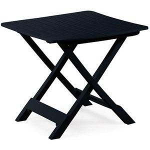 Table jardin pliante resine - Achat / Vente pas cher