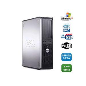 UNITÉ CENTRALE  PC DELL Optiplex 380 DT Core 2 Duo E7500 2,92Ghz 8