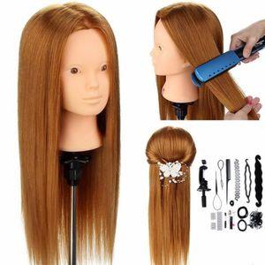TÊTE D'IMPRESSION Tête À Coiffer Coiffure + Titulaire & Hair Braid S